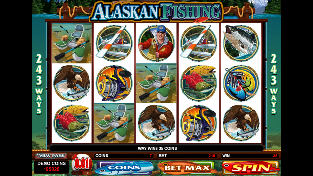 Характеристики слота Alaskan Fishing 4